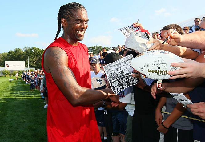 With Randy Moss and Wes Walker in the arsenal, Brady should not have much of a problem finding someone open.
