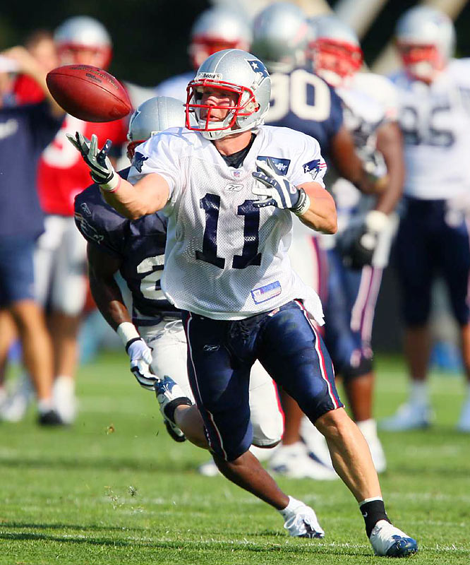 Seventh round pick Edelman was the starting quarterback for Kent State but will be used as a wide receiver for the Pats.