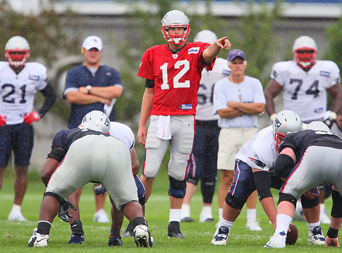 Because Matt Cassel, Brady's 2008 replacement, was sacked 47 times last season, the Patriots and new offensive coordinator Bill O'Brien will look to repair some pressure schemes during camp.