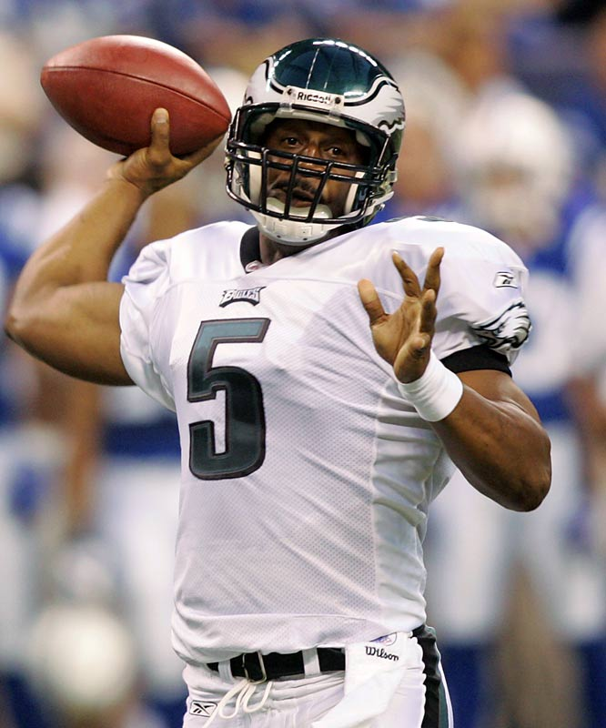 Donovan McNabb can't wait for him and Michael Vick to be on the same field together. Eagles fans just wish that someone would get them to the Super Bowl again.