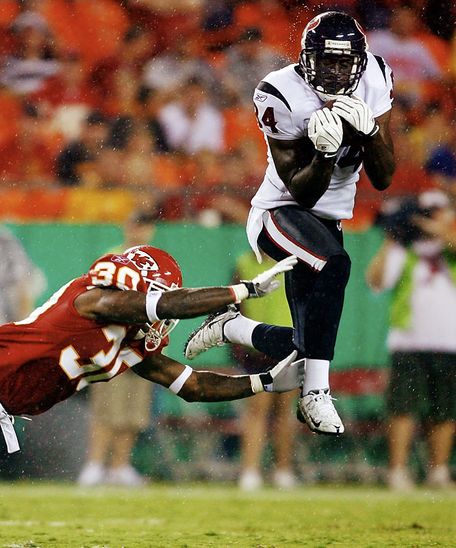 A rookie out of Miami, Jenkins had made one reception this preseason, a 19-yarder against the Chiefs.