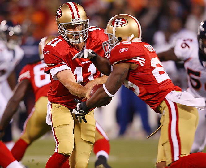 A third-round pick out of Alabama, Coffee will relieve San Francisco starter Frank Gore this season.