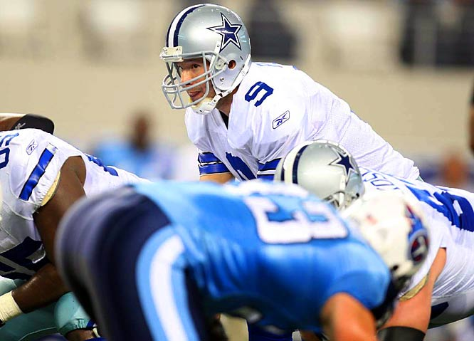 Dallas fans are hopeful this is the season Tony Romo leads the Cowboys back to the Super Bowl.