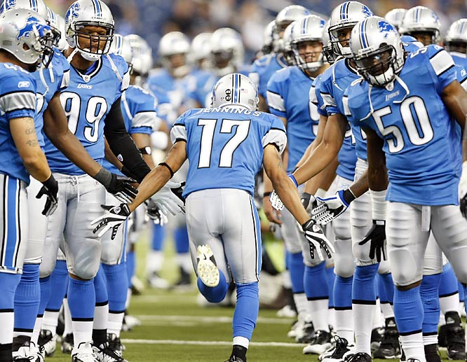 The NFL record for most consecutive games without a win is 26, set by the Tampa Bay Buccaneers of 1976-77. Adam Jennings and the Lions are nine shy of tying it.