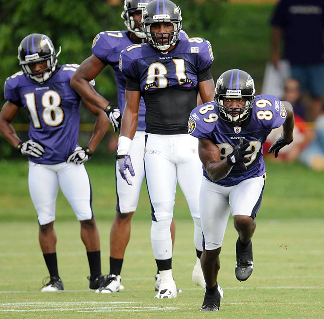 After tweaking a hamstring in practice, Mark Clayton told the <i> Baltimore Sun </i> he could be out for 'a couple of weeks'.