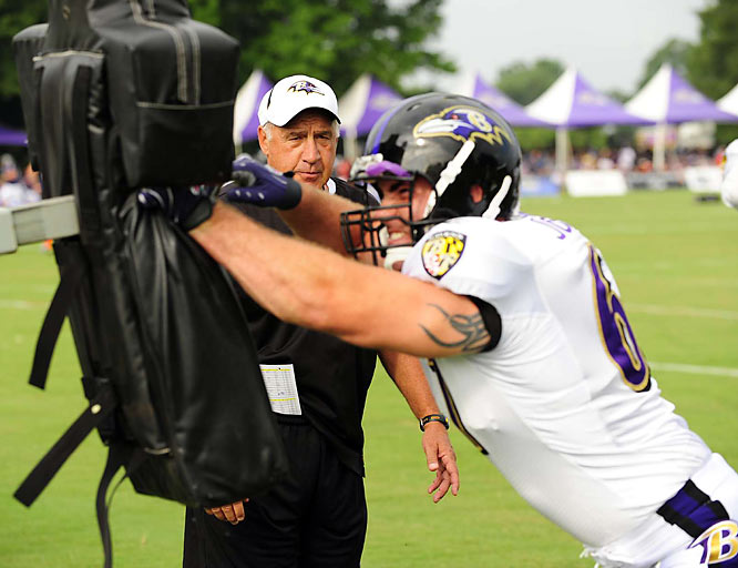 Intensity in the Ravens camp is picking up.