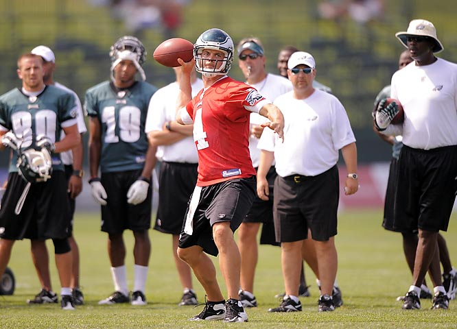 Kevin Kolb spelled Donovan McNabb on a couple of occasions last season, but after No. 5 led the Eagles to the NFC Championship Game, there shouldn't be any QB controversy in Philly.
