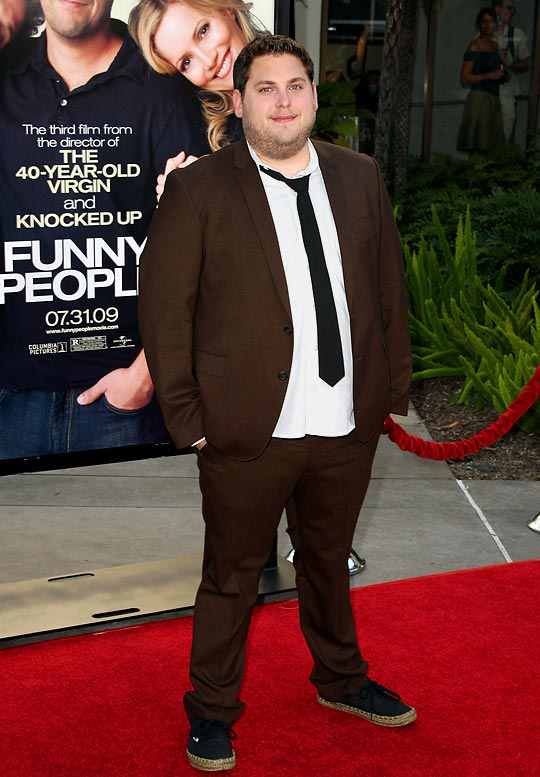 The bottom line on <i>Funny People</i> is that you either love or hate the movie. Count us among the latter. The movie is way too long (no Judd Apatow film should ever be two-and-a-half hours) and was more people than funny. It should have been as short and sweet as the story Jonah Hill told while promoting the film. Hill says Phil Jackson nearly kicked him out of his courtside seats next to the Lakers' bench for playing musical chairs during the game.
