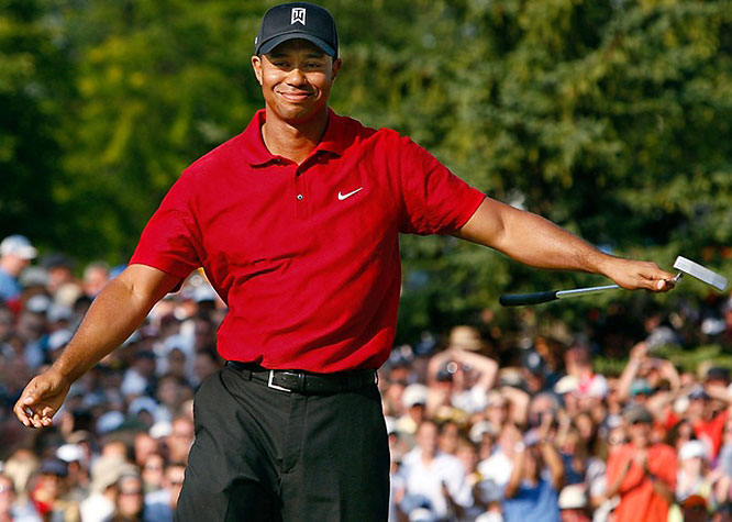 """Woods won the Buick Open by three strokes, but the only thing anyone wanted to talk about after the tournament was who broke wind while he waited to play a shot from the 18th fairway. Things got so out of hand that CBS went ahead and told some outlets that it wasn't Woods who let one rip in a viral clip that was an overnight hit on YouTube. We'll refrain from making a """"whoever smelt it, dealt it"""" joke and move on from the topic of flatulence."""
