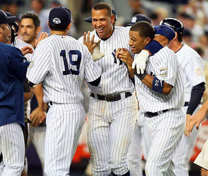Things are finally returning to normal in the world. Football is back, Britney Spears is on tour and the Yankees are once again sweeping the Red Sox. The only thing more amazing than the Yankees' performance after losing eight straight to Boston was Alex Rodriguez's clutch hitting in the four-game series.