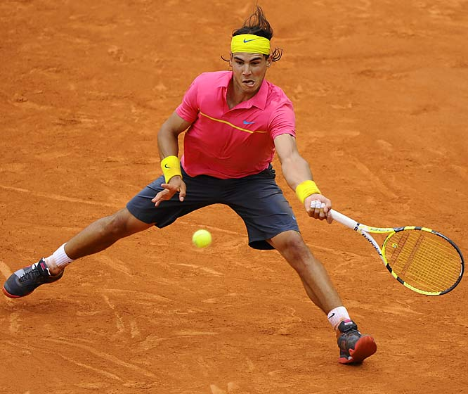 Nadal ought to be fairly fresh for a change, having missed June and July to recover from a knee injury. The bad news: He's still not at full strength, as evidenced by his play in Montreal and Cincy.