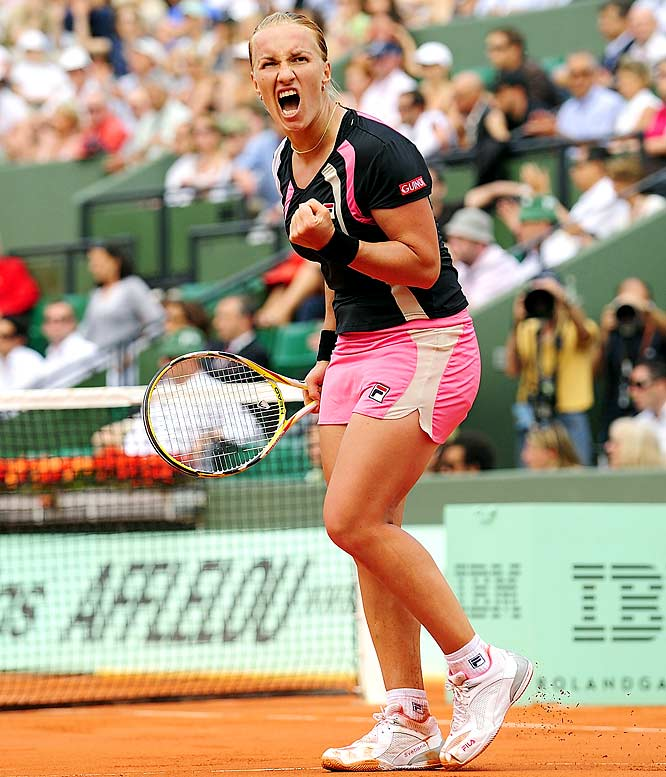 The reigning French Open champion won the Open in 2004. She has the game to do it again, but she didn't play well on the summer hard-court circuit.