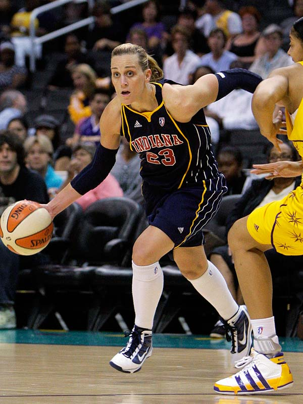 Katie Douglas (pictured) hit a career-best six three-pointers on the way to a 28-point, 10-rebound and five-assist night as the Fever topped the Mercury 90-83 Saturday night in Phoenix. Two nights later they were knocked off track by Los Angeles in a 75-63 loss at Staples Center.<br><br>Next three: 8/13 at Minnesota; 8/15 vs. Detroit; 8/20 at Sacramento