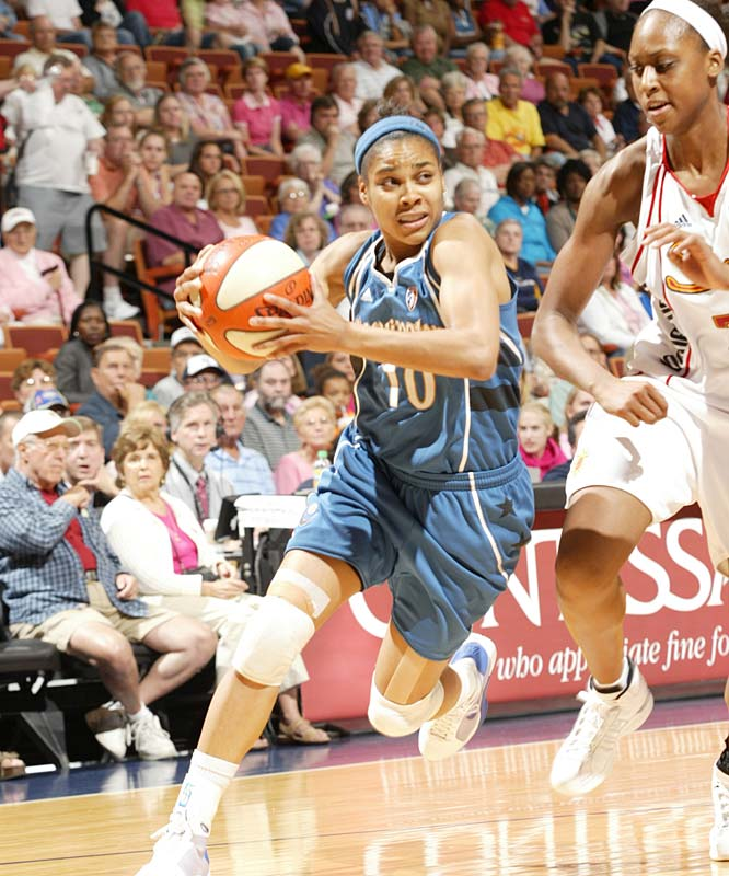 "After suffering consecutive losses at Connecticut (96-67) and against Detroit (81-77), Lindsay Harding (pictured) and the Mystics are looking like the East's version of the Lynx -- a team that has quickly gone cold after an incandescent start to the season. That could be because, like Minnesota, Washington is a young team that is still learning how to win games. ""This team is a little bit fragile,"" said rookie coach Julie Plank. ""There have been games that we've had leads and held on to them and made big plays down the stretch."" So how do they get more late stops in the future?  ""I think we have to have a sense of urgency,"" she said.<br><br>Next three: 8/14 vs. Connecticut; 8/16 vs. New York; 8/18 at Los Angeles"