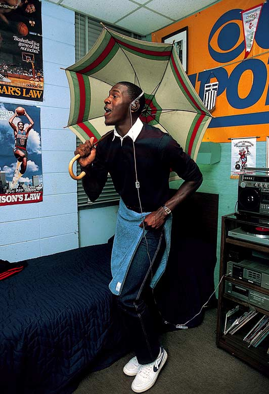 Before he was one of the NBA's all-time greats, Michael Jordan was another 20-year-old college student. In these rare photos, Jordan gives SI a tour of the Chapel Hill campus and shows his life off the court.