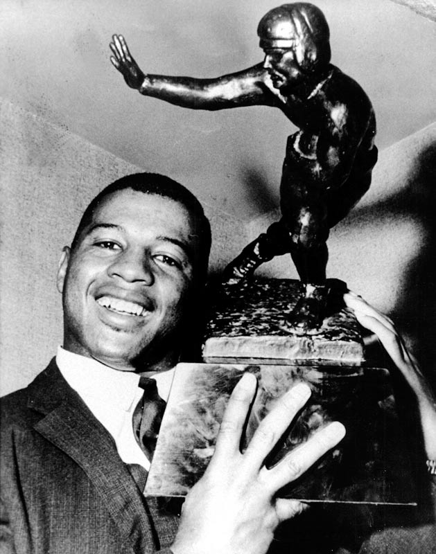 In the same year when Freedom Riders braved bus rides through the South to test integration, Davis made history of his own by becoming the first black player to enter the Heisman fraternity.