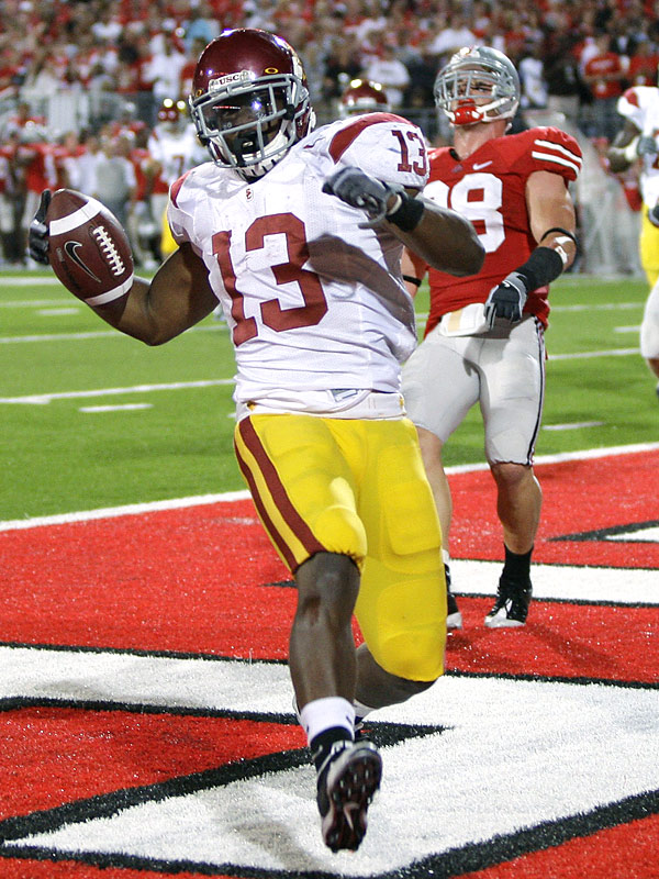 USC tailback Stafon Johnson totaled 52 yards and two touchdowns -- including the game-winning score with 1:05 left.