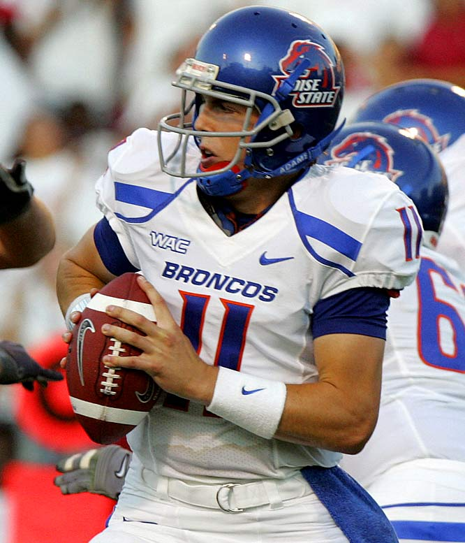 Kellen Moore was nearly flawless for Boise State, throwing for 247 yards and two touchdowns in the Broncos' victory over Bowling Green.
