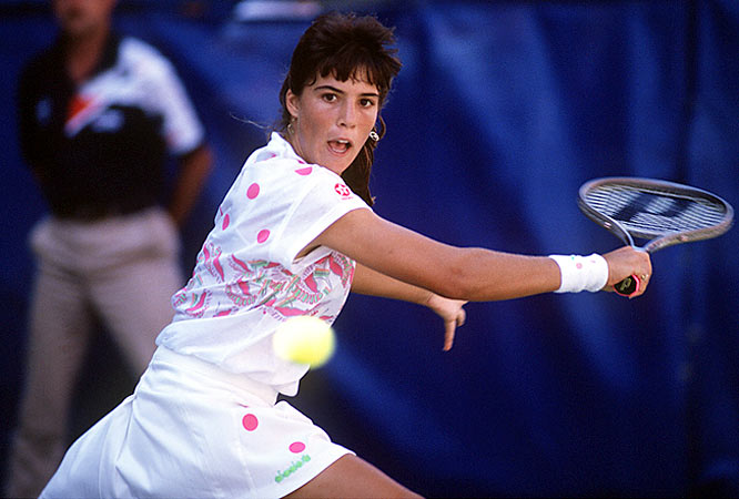 Fourteen-year-old Jennifer Capriati became a household name during the 1990 U.S. Open, where she advanced to the fourth round before bowing out.