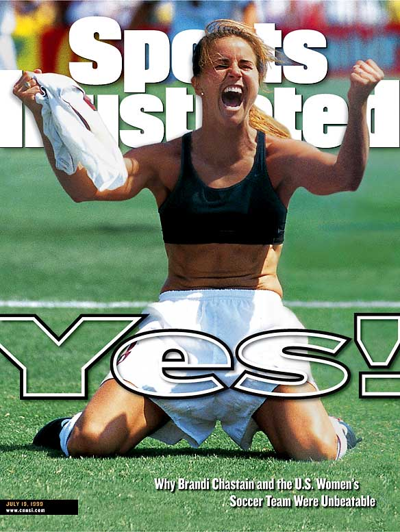 Did you miss the recent 10-year anniversary party? Yeah, women's soccer hasn't exactly experienced the boom many predicted would happen. But for one glorious afternoon, America tuned in, Brandi Chastain took off her top and millions of hearts raced with glee. Sure, it was a shootout, possibly the worst way to determine a winner, but it was fun.