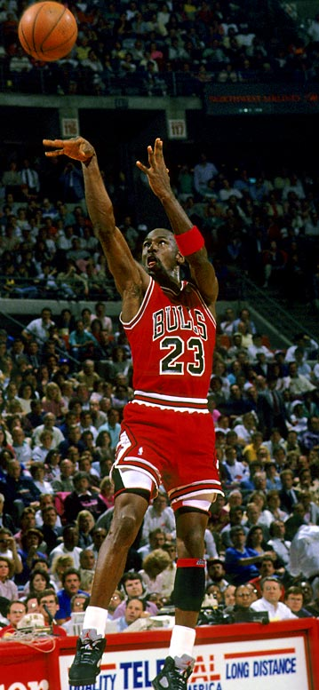 "It wasn't ""The Shot,"" that broke the Cavaliers' hearts a year earlier, or even an overtime thriller with playoff implications. It was merely Michael Jordan at his most brilliant best. He could not miss. Anything. The Cavaliers were playing as well as anyone could play and craved redemption from the playoff exit a year earlier. They didn't get it. Jordan finished with 69 points and it was the start of a beautiful relationship with new coach Phil Jackson."