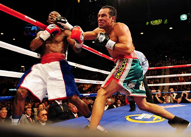 Marquez fought at 130 pounds just 18 months prior, when he lost by narrow decision to Manny Pacquiao.