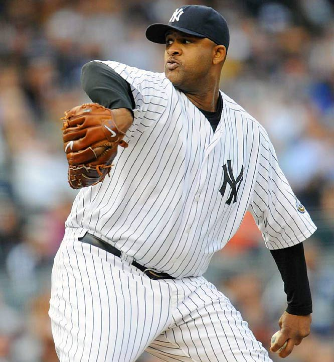 CC Sabathia dominated the Red Sox, allowing just one hit over 7 2/3 innings. The win made Sabathia the first 19-game winner in the Major Leagues this season.