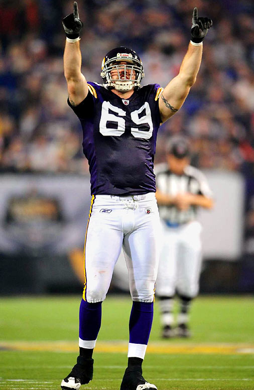 Allen, a defensive end for the Vikings, has been to two Pro Bowls since making his NFL debut in 2004. He has also trained at the famed MMA gym Arizona Combat Sports and works with former WEC and UFC fighter Alex Karalexis to improve his gridiron game.