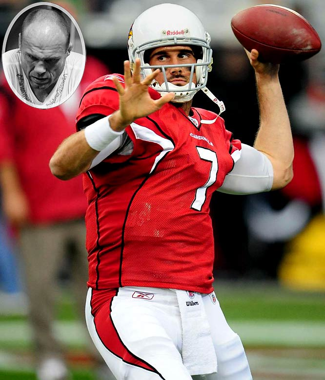 """Leinart, the 2004 Heisman Trophy winner and current Cardinals backup QB, sought a """"mental and physical makeover."""" So he employed Fox's NFL reporter and MMA commentator Jay Glazer to put him to work in the cage."""