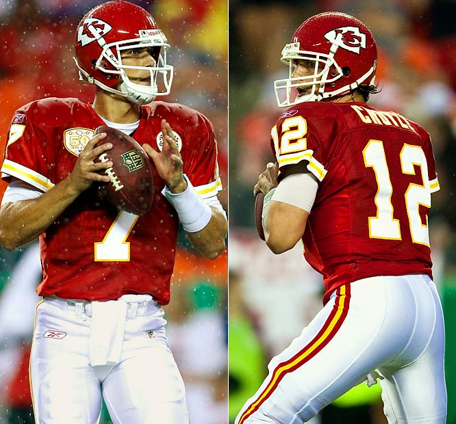 Cassel was the big offseason acquisition for the Chiefs and their new executive, Scott Pioli, who unexpectedly drafted the quarterback out of USC when he worked in New England. His preseason injury meant that Brodie Croyle was handed the reins in Kansas City. That' not good news: after a 38-24 loss to the Ravens, Croyle, who played well, is 0-9 as an NFL starter. <br><br>Send comments to siwriters@simail.com.