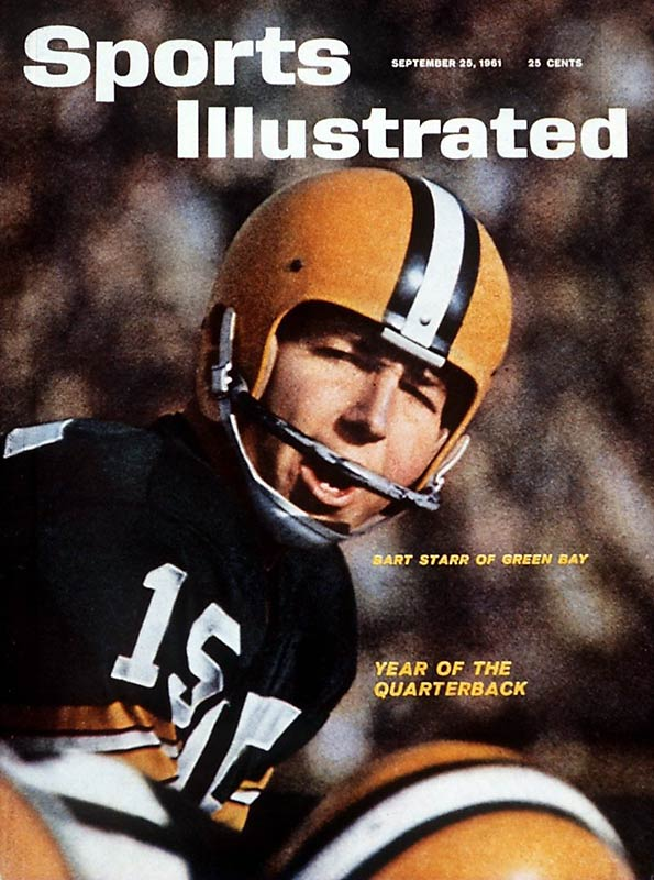 A pedestrian guy till Lombardi arrived, then boom: five NFL titles in a seven--year span.