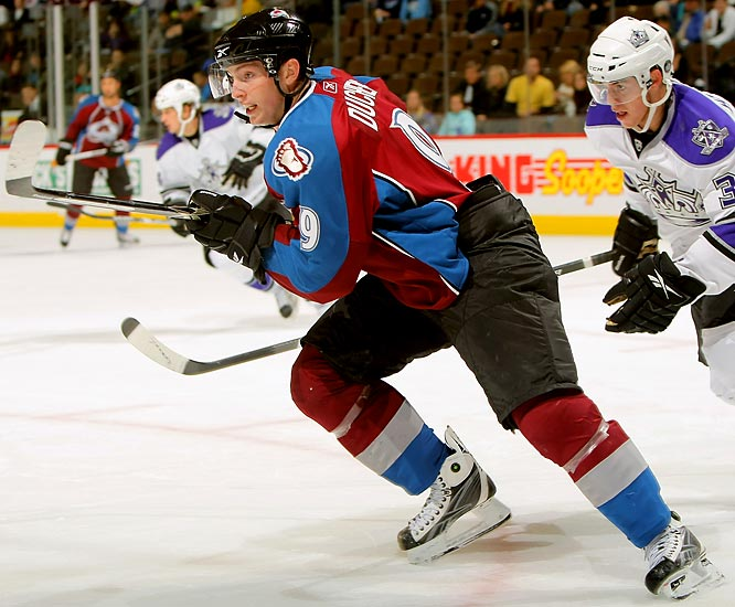 """The third-overall pick of 2009 has earned comparisons to Joe Sakic for his hockey sense, creativity and leadership skills. He put the total package on display during camp and challenged the Avs to cut him. The team is making a concerted public effort to lower expectations, but off the record, they're thrilled. """"He's for real,"""" said one team official."""