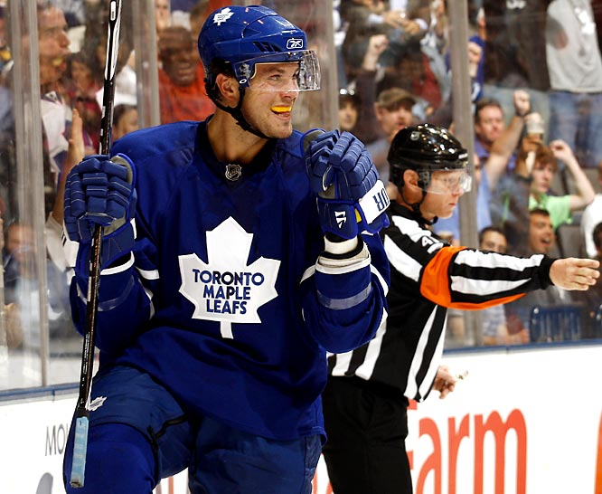 Probably best not to get too worked up about his five preseason goals, but it doesn't take too many looks to imagine Stalberg helping the Leafs this season. A sixth-round steal from the 2006 draft, Stalberg has impressed with his speed, willingness to initiate contact and those kitten-soft mitts.