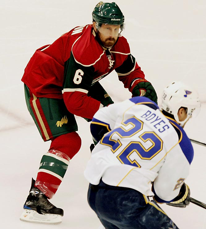 A fifth-round pick by Ottawa in 2000, Zanon the shot-blocking machine -- a career plus-19 in four seasons with Nashville -- was a savvy free agent signing by new Wild GM Chuck Fletcher. <br>-- <i>Michael Farber</i>