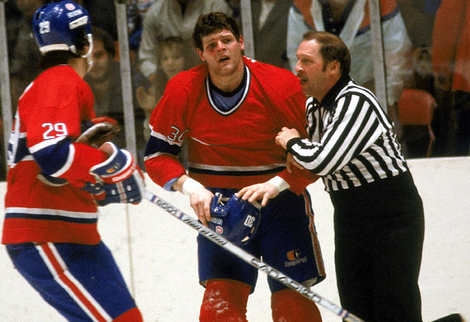 One of the NHL's best fighters and top enforcers of the 1980s, Nilan earned his nickname while plying his trade for Canadiens, Rangers, and Bruins, racking up 3,043 minutes in the sin bin.