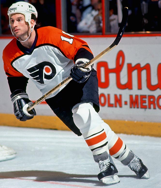 "Hall of Famer Bobby Clarke of the Flyers thought Linseman's hunched, scuttling skating style reminded him of a rat. Linseman, who played 13 seasons in the NHL, was indeed a determined pest known for biting foes during fights. With Brian Propp and Paul Holmgren, Linseman led the Flyers' ""Rat Patrol"" line of the early 1980s."