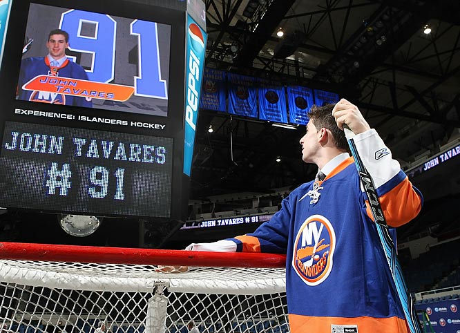 The rebuild's been underway on Long Island since the lockout -- the 1994-95 lockout -- but the arrival of 2009 first overall pick John Tavares might finally steer it in the right direction. Blessed with the best hands the team has seen since Mike Bossy, Tavares looks to be one of several 2009 draftees (Victor Hedman, Matt Duchene) in a contentious race for the Calder Trophy.