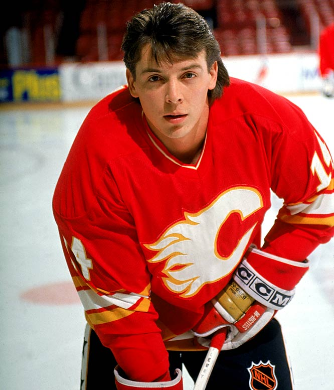 """Born in Oxbow, Saskatchewan, Canada, the speedy Fleury had to develop a fiery, oversized game in order to prove that, at 5-6, he wasn't too small to play in the NHL. He starred as a teenager for the Moose Jaw Warriors of the WHL and, with Team Canada at the 1987 World Junior Championships, played a role in a 20-minute brawl known as the """"Punch-up at Piestany"""" that got his team and the Soviet Union disqualified."""