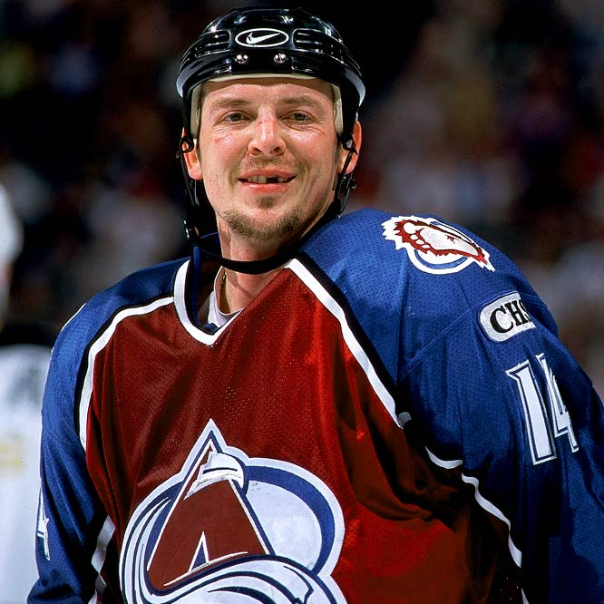 In February 1999, the Flames traded the impending free agent to the Colorado Avalanche, for whom he scored 24 points in 15 regular season games plus another 17 in the playoffs.