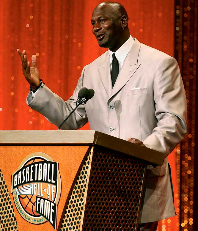 So you want to be like Mike? You want to be a legend who holds petty grudges and won't let old feuds die? In his Hall of Fame induction speech, the greatest player of all time couldn't help but knock guys like Bryon Russell and Jerry Krause, as well as his old high school coach and the player whom the coach picked instead of Jordan for the varsity team. It was like hearing Tom Hanks trash Peter Scolari and the cast of <i>Bosom Buddies</i> after winning the Academy Award.