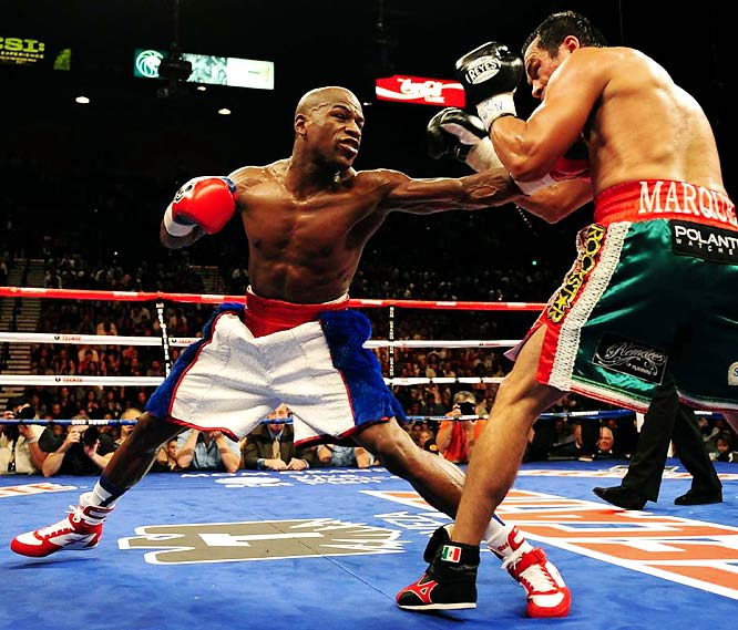 "Not only did ""Money"" Mayweather dominate Juan Manuel Marquez after a two-year layoff, but he finally dismissed the popular notion in some circles that drinking your own pee makes you a better fighter."