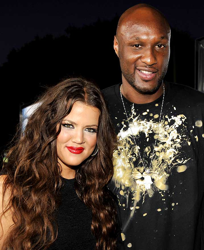 Odom and Kardashian, who met about a month ago, are reportedly getting married this Sunday. Most of Odom's Lakers teammates are expected to attend. At least Kim and Kourtney should be coming to more Lakers games next season.