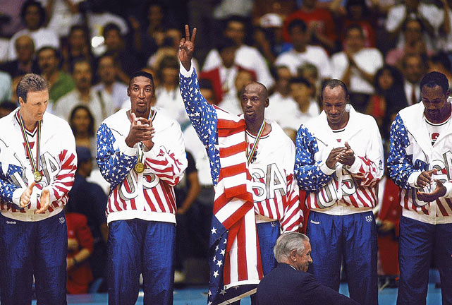 "1992 USA Dream Team (left), Scottie Pippen, Karl Malone, Dennis Johnson, Gus Johnson, Cynthia Cooper, Bob Hurley Sr., Jerry Buss, 1960 USA Men's Olympic Team, Jackie MacMullan, Maciel ""Ubiratan"" Pereira  The 2010 class includes, perhaps, the greatest basketball team ever assembled: The 1992 ""Dream Team,"" the gold medal-winning U.S. team that blew out the competition at the Barcelona Games and reinstated the Americans' reign over international basketball. But two members of the Dream Team, Scottie Pippen and Karl Malone, also earned individual spots in the Hall, the first a seven-time All-Star and six-time NBA champion, and the latter the second-leading career scorer (36,928 points) in NBA history."