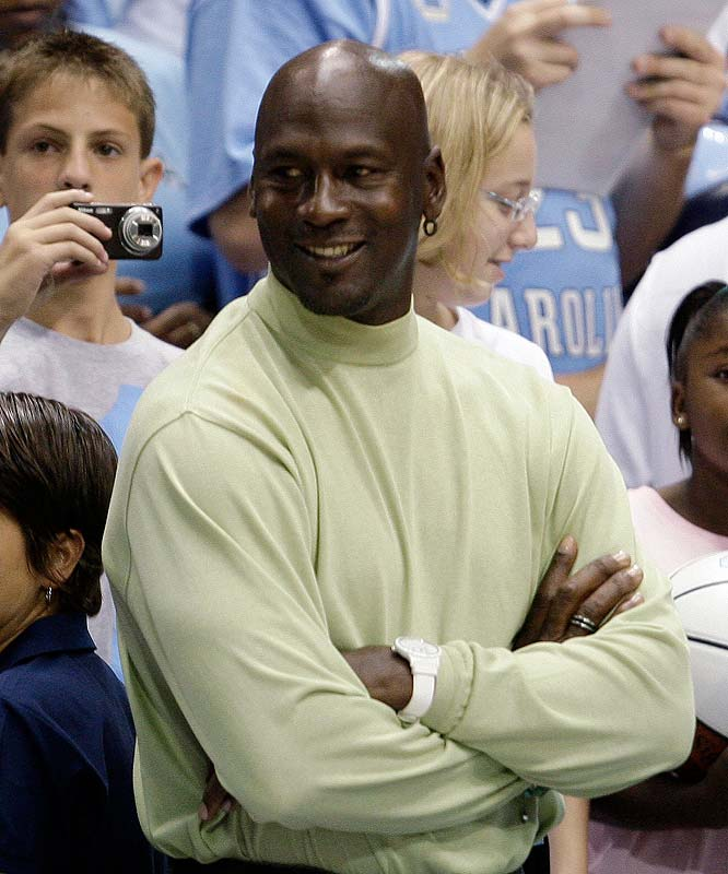Alumni from Michael Jordan to Tyler Hansbrough gathered in Chapel Hill to celebrate the Tar Heels' 100th anniversary.  Here's a look at the action from the game.