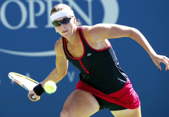 Shvedova, the world No. 55 from Kazakhstan, took out Jankovic in a third-set tiebreaker, 6-3, 6-7 , 7-6.
