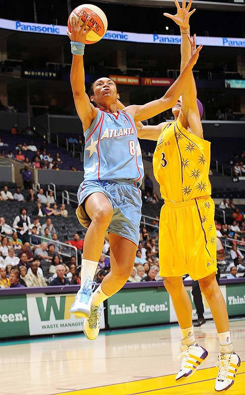 Last week was a rough one for the Dream. First, they lost leading scorer Chamique Holdsclaw to a right knee injury last Sunday, then they dropped road games in Detroit (87-83) and Seattle (91-84). Holdsclaw had the knee scoped last Sunday, and the team expects her to make a full recovery. Though the fact that is the second time that knee has been cut open in the last nine months should give Dream fans cause for concern, the 84-79 victory Atlanta got over the Sparks in LA without her -- thanks to Iziane Castro Marques' (pictured) 27 points -- is plenty encouraging. <br><br>Next three: 9/4 at Sacramento; 9/5 at Phoenix; 9/11 vs. Connecticut