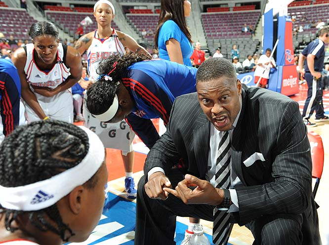Victories in five of their last six games have stoked Rick Mahorn's Shock's flickering hopes of defending their WNBA crown, and no player has been hotter during that run than Deanna Nolan. The swingwoman won her fourth career Player of the Week on Monday after averaging a league-leading 26.7 points on 41.8 percent shooting, 3.7 rebounds and 2.7 assists in games against Connecticut, Atlanta and San Antonio. After scoring a season-high 34 points on the Silver Stars, she added 21 more in a 101-99 win over Phoenix Tuesday that allowed Detroit to slip into the East's last playoff spot.<br><br>Next three: 9/4 vs. Indiana; 9/6 vs. Chicago; 9/9 at Minnesota