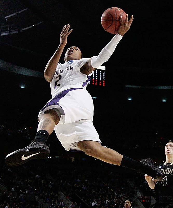 Everyone's a sucker for electric, pint-sized scorers, and Thomas knows how to put on a show: Despite being listed at 5-8, he won the Huskies' Midnight Madness dunk contest by jumping over 6-9 teammate Matthew Bryan-Amaning. Few Pac-10 defenders can contain Thomas off the dribble, and he and freshman Abdul Gaddy are going to be the most exciting guard duo on the West Coast.