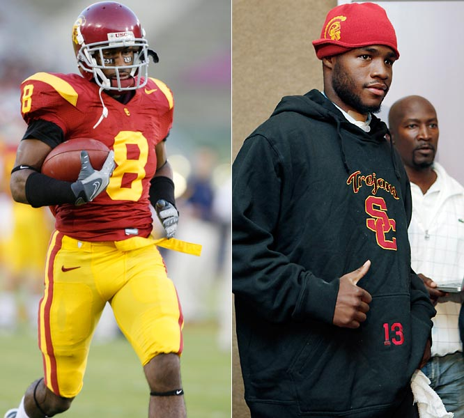 USC suffered two major losses when receiver Ronald Johnson (left) broke his collarbone and Stafon Johnson (right) suffered a freak weightlifting accident. It's unclear if Johnson will be able to play football again, but the 5-1 Trojans have used his loss as motivation and could get a huge boost if RoJo, who recently practiced for the first time since August, returns.