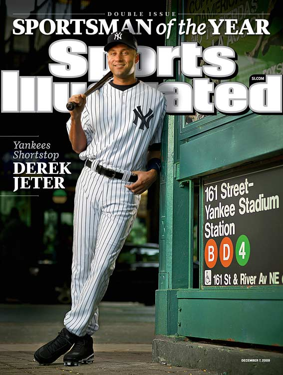 Jeter's 2009 season earned him SI's Sportsman of the Year award.